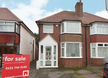 Thumbnail 3 bed semi-detached house for sale in Temple Avenue, Hall Green, Birmingham