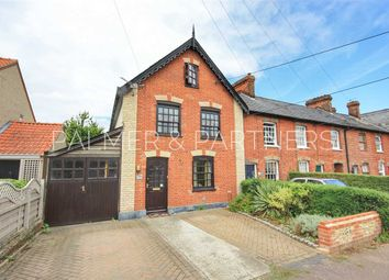 Thumbnail 3 bed end terrace house for sale in Fair Green, Glemsford, Sudbury