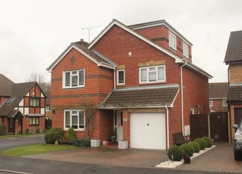 Thumbnail 5 bedroom detached house for sale in Greyhound Close, Hedge End, Southampton