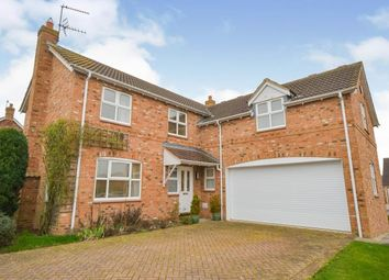 Thumbnail 5 bed detached house for sale in Northfield Rise, Saxilby, Lincoln