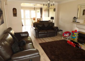 Thumbnail 4 bed semi-detached house to rent in Carnarvon Avenue, Enfield