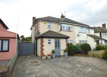 Thumbnail 3 bed semi-detached house for sale in Windermere Avenue, Hornchurch