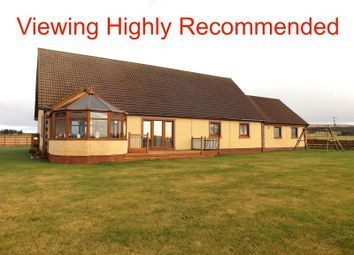Thumbnail 4 bed detached bungalow for sale in Halkirk