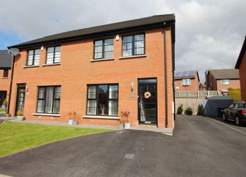 Thumbnail 3 bed semi-detached house for sale in Highgrove Green, Carrickfergus