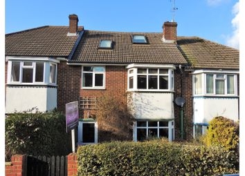 Thumbnail 4 bed terraced house for sale in Warwick Crescent, Rochester