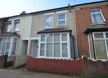 Thumbnail 2 bed terraced house to rent in Millbrook Road, Bedford
