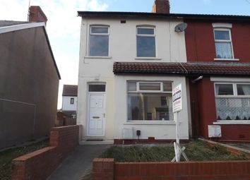 Thumbnail 3 bed end terrace house to rent in Kelvin Road, Thornton-Cleveleys