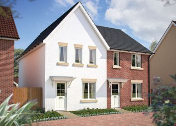 "Thumbnail 3 bed terraced house for sale in ""The Beardsley"" at Poethlyn Drive, Costessey, Norwich"