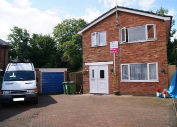Thumbnail 3 bedroom detached house for sale in Coltbeck Avenue, Narborough, Leicester