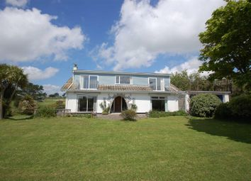 Thumbnail 6 bed detached bungalow for sale in Pengersick Croft, Praa Sands, Penzance