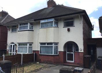 Thumbnail 3 bedroom semi-detached house for sale in Lower Villiers Street, Blakenhall, Wolverhampton
