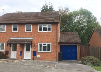 Thumbnail 3 bed semi-detached house to rent in Badgers Way, Sturminster Newton, Dorset