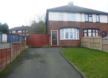 Thumbnail 2 bed semi-detached house to rent in Pine Road, Tividale, Oldbury