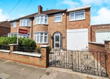 Thumbnail 4 bed semi-detached house for sale in Naseby Road, Off Gipsy Lane, Leicester