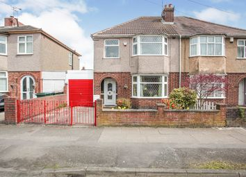 Thumbnail 3 bed semi-detached house for sale in Three Spires Avenue, Coventry