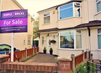 Thumbnail 3 bed semi-detached house for sale in Lister Crescent, Liverpool