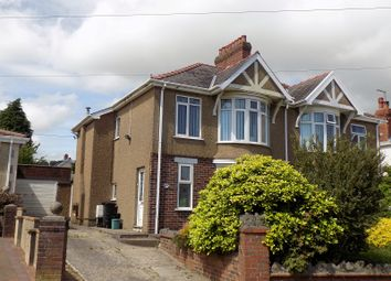 Thumbnail 3 bed semi-detached house for sale in Serecold Avenue, Neath, Neath Port Talbot.