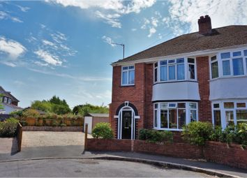 Thumbnail 4 bed semi-detached house for sale in Wallace Avenue, Exeter