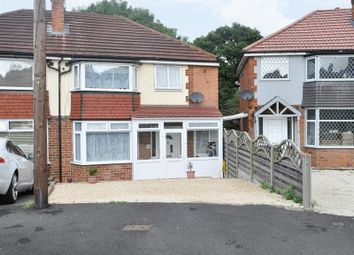 Thumbnail 4 bed semi-detached house for sale in Dunster Close, Kings Norton, Birmingham