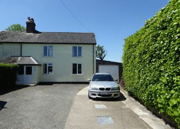 Thumbnail 3 bed semi-detached house for sale in Halwill, Beaworthy