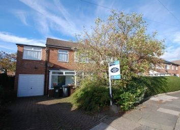 Thumbnail 4 bed semi-detached house for sale in Corbridge Avenue, Wideopen, Newcastle Upon Tyne