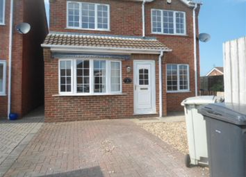 Thumbnail 3 bed detached house to rent in Kime Court, Skegness