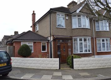 Thumbnail 3 bed semi-detached house to rent in Chudleigh Crescent, Ilford