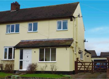 Thumbnail 3 bed semi-detached house for sale in Church Street, Coton-In-The-Elms