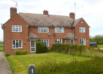 Thumbnail 3 bed semi-detached house to rent in Great Raveley, Huntingdon