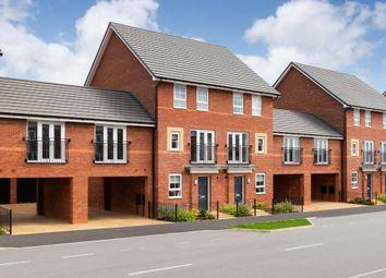 "Thumbnail 4 bedroom terraced house for sale in ""Faversham Link"" at Carters Lane, Kiln Farm, Milton Keynes"