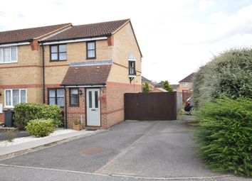 Thumbnail 3 bedroom end terrace house for sale in Wansbeck Close, Stevenage, Hertfordshire