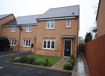 Thumbnail 3 bed town house for sale in Goss Place, Alsager, Stoke-On-Trent