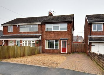 Thumbnail 2 bed semi-detached house for sale in Downham Road, Newcastle, Staffordshire