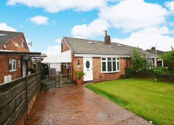Thumbnail 3 bed semi-detached bungalow for sale in Oakdale Drive, Heald Green, Cheadle