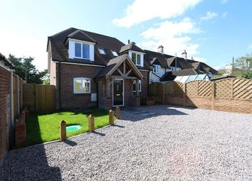 Thumbnail 3 bedroom detached house for sale in Hilly Close, Owslebury, Winchester, Hampshire