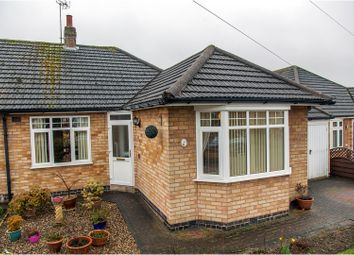 Thumbnail 2 bed semi-detached bungalow for sale in Thirlmere Road, Wigston