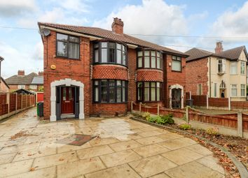 Thumbnail 3 bedroom semi-detached house for sale in Barlow Moor Road, Chorlton Cum Hardy, Manchester