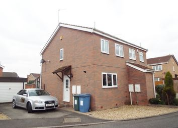 Thumbnail 2 bed semi-detached house to rent in Pasture Close, Worksop, Nottinghamshire