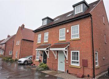 Thumbnail 3 bed semi-detached house for sale in Neville Drive, Ashby-De-La-Zouch