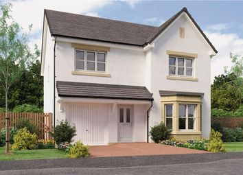 "Thumbnail 4 bed detached house for sale in ""Dale"" at Auchinleck Road, Robroyston, Glasgow"