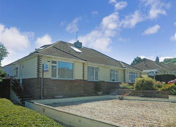Thumbnail 3 bed semi-detached bungalow for sale in Downside Avenue, Findon Valley, Worthing, West Sussex