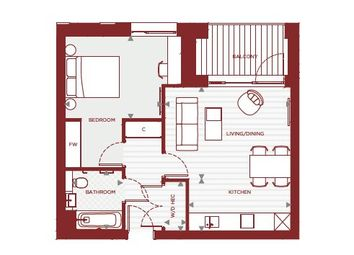 1 bed flat for sale in Arbor House, Depford SE8