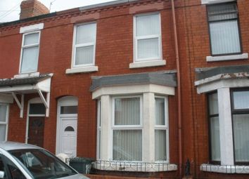 Thumbnail 3 bed terraced house to rent in Palatine Road, Wallasey