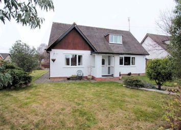 Thumbnail 4 bed detached bungalow for sale in Roe Parc, St. Asaph