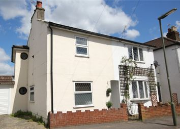 Thumbnail 2 bed end terrace house for sale in Station Road, Chertsey, Surrey