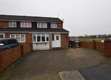 Thumbnail 4 bedroom end terrace house for sale in Holst Close, Stanford-Le-Hope, Essex