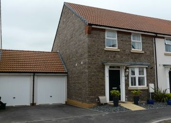Thumbnail 3 bed semi-detached house to rent in Cambridge Way, Cullompton