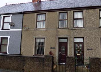 Thumbnail 3 bed terraced house for sale in Rhydyclafdy, Pwllheli, Gwynedd