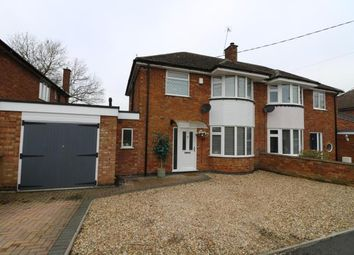 Thumbnail 3 bed semi-detached house for sale in Briars Close, Long Lawford, Rugby, Warwickshire