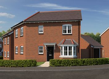 "Thumbnail 3 bedroom detached house for sale in ""The Donnington"" at The Ridge, Blunsdon, Swindon"